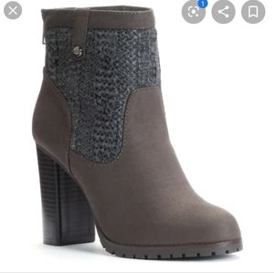 Juicy Couture Lupia Ankle Boots